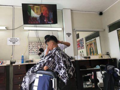 ジャスティンの髪型を目指していざ床屋へ