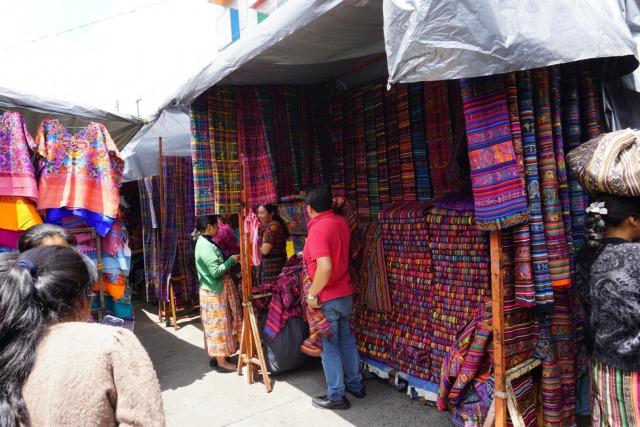 グアテマラの民族衣装② コルテ (Corte)