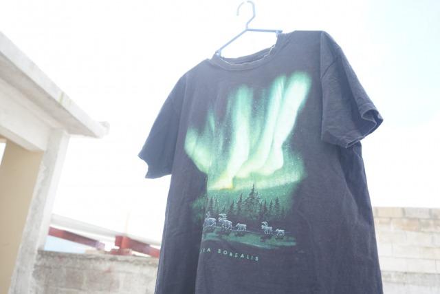 オーロラTシャツ