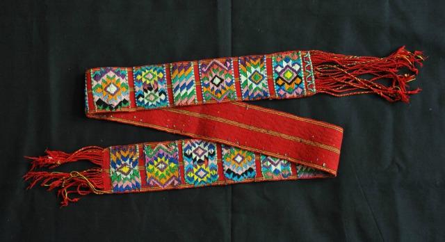 グアテマラの民族衣装③ ファハ (Faja)