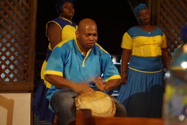 リビングストン観光③ ガリフナ族の伝統ダンス