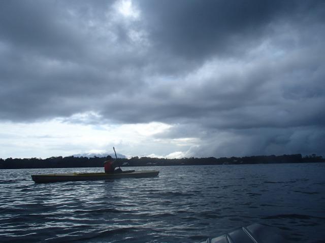 リオドゥルセの見所③ カヤックで堪能せよ リオドゥルセとイサバル湖