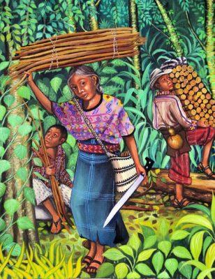 ラディーノ大地主によるグアテマラ先住民、インディヘナ搾取の歴史