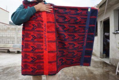 カンテルタオル③ ナウアラ民族衣装の柄