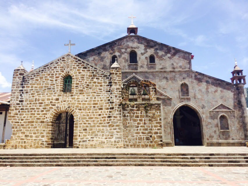 サンフアンララグナの教会外観