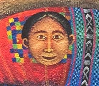 サンフアンララグナのマヤ先住民