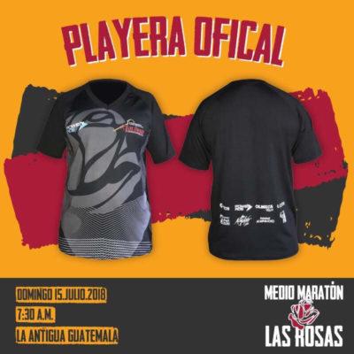 アンティグアマラソンの大会公式Tシャツ