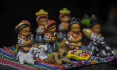 グアテマラの民芸品のお土産