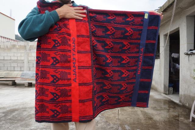 グアテマラおすすめお土産のカンテルタオル2