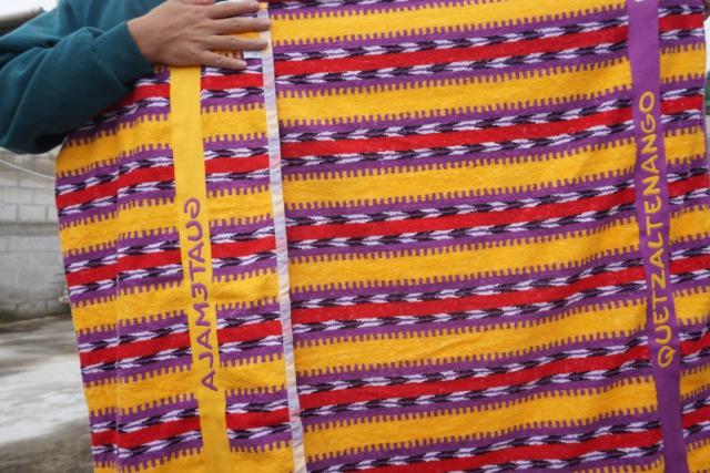 グアテマラおすすめお土産のカンテルタオル4