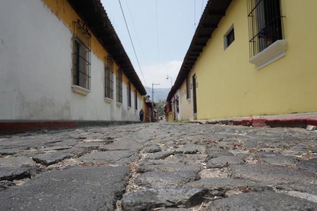 世界遺産アンティグアの石畳