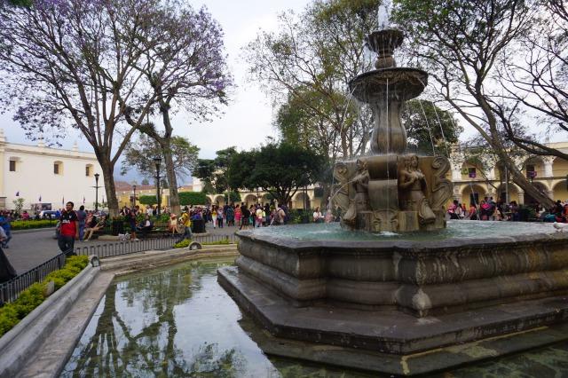 アンティグア観光の見所1 パルケセントラル