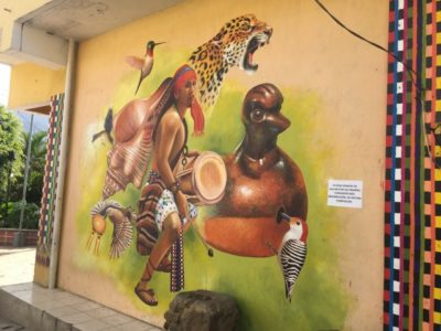 サンフアンララグナのグラフィティアート2