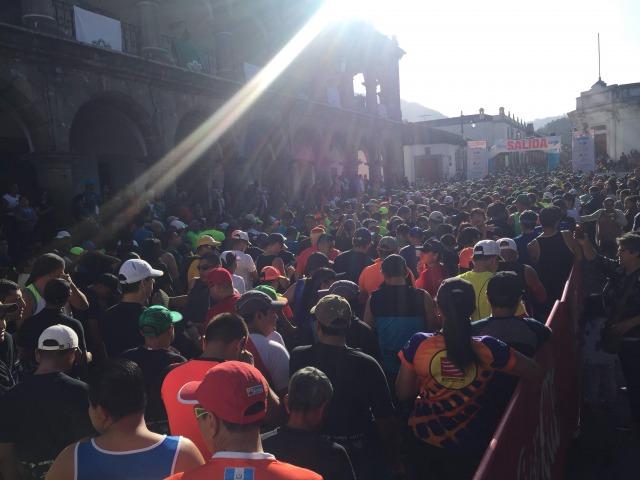 アンティグアマラソンスタート地点