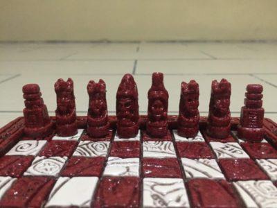 グアテマラのお土産チェス2