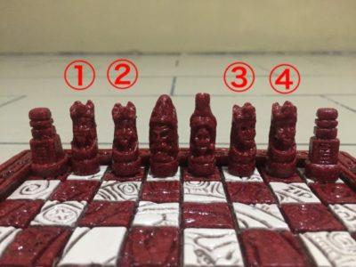 グアテマラのお土産チェス3