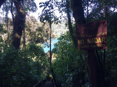 グアテマラのインディヘナにとって神聖な湖