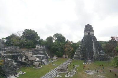 グアテマラのティカル遺跡観光1