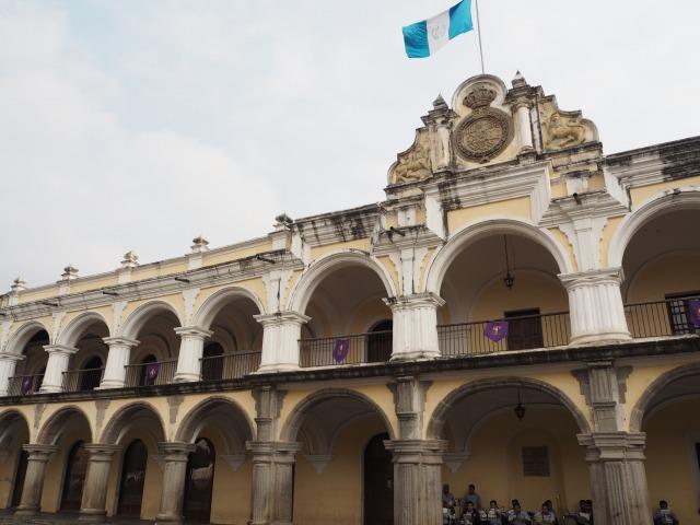 アンティグア観光の見所2 パルケセントラル