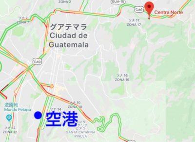 コバンに行く長距離バスMonja Blanca(モンハブランカ)