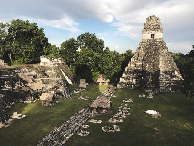 グアテマラ各地のおすすめ観光情報 ティカル遺跡編