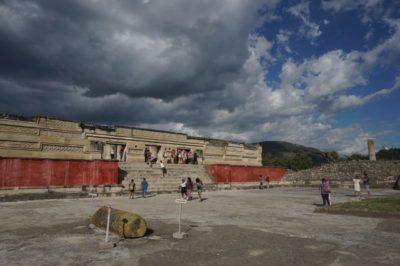 オアハカ観光 ミトラ遺跡