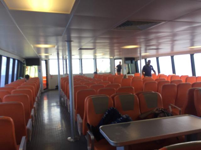 ロアタン島-ウティラ島間のフェリーはUTILA DREAMという会社が運行しています