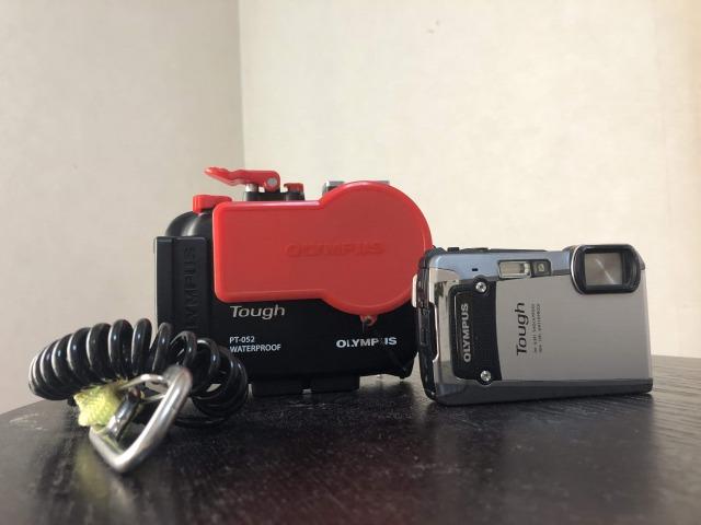 ダイビング用として買ったオリンパス水中カメラ