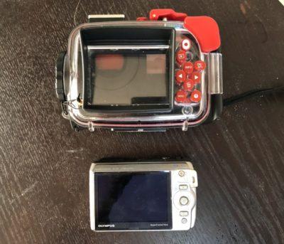 オリンパスの水中カメラは使いやすい